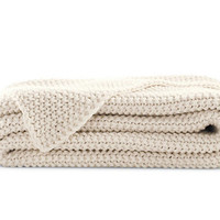 Organic Cotton Knit Blanket