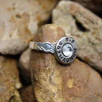 Bullet jewelry, bullet ring, 357 magnum bullet ring, redneck jewelry, country girl, shot gun, ammo
