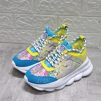 Versace Chain Reaction Sneakers #dsr111