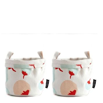 Set of 2 Canvas Buckets (Small)