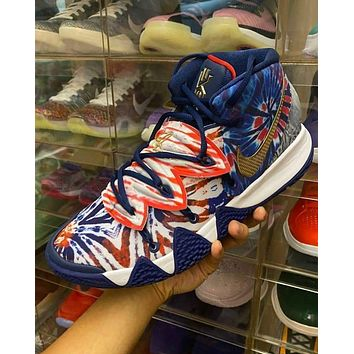 Nike Kyrie S2 Hybrid ¡®Tie-Dye¡¯ full palm cushioned cushioning sneakers shoes