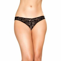 Cutout Lace Panties