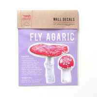 Toadstools Wall Decal (Fly Agaric)