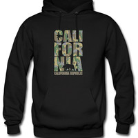 california camouflage army d Hoodie