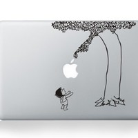 Tree Boy Macbook Decal Skin Stickers Mac Cover Decal for Apple Macbook 13 15 Inch