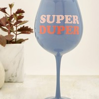 Super Duper XL Wine Glass | Urban Outfitters