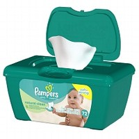 Pampers Natural Aloe Unscented Baby Wipes | Walgreens