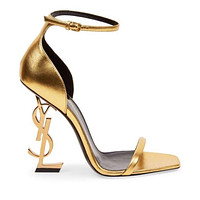 Saint Laurent Pairs YSL Trending High Heels Shoes Sandals / 10CM