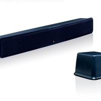 Boston Acoustics TVee Powered Soundbar Speaker System with Wireless Subwoofer (Black) (Discontinued by Manufacturer)