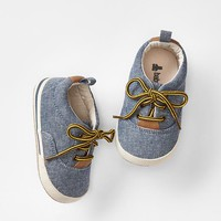 Gap Baby Chambray Sneakers