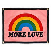 More Love Felt Flag Banner