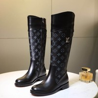 Louis Vuitton Woman fashion long boots