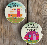 Natural Life Camper Coaster Set