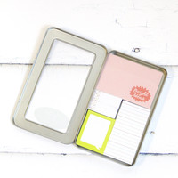 Bright Ideas Tin of Sticky Notes