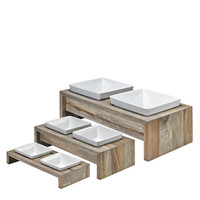 Double Diner - Natural Wood