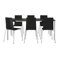 TORSBY/MARTIN Table and 6 chairs   - IKEA