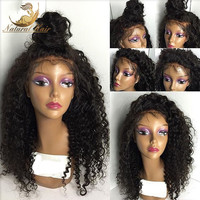 Glueless Brazilian Full Lace Wigs