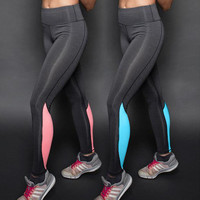 High elasticity was thin exercise fitness quick drying pants [9919685644]