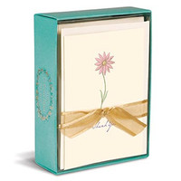 A Single Daisy Boxed Thank You Cards