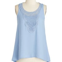 Pastel Mid-length Sleeveless The Swing to Do Top