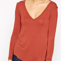 ASOS New Forever T-Shirt With Long Sleeves