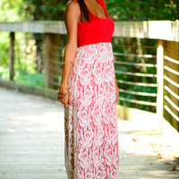 Come Away With Me Maxi, Red