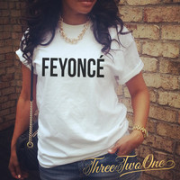 Feyonce Classic Relaxed T Shirt