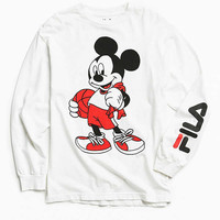 FILA X Disney Basketball Long Sleeve Tee | Urban Outfitters