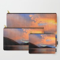 Sunset Carry-All Pouch by Haroulita | Society6