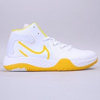 Nike KD Trey S VII EP New fashion hook print shoes men White