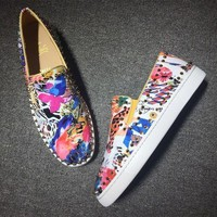 DCCK2 Cl Christian Louboutin Pik Boat Style #2304 Sneakers Fashion Shoes