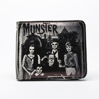 The Munsters Family Portait Billfold Wallet