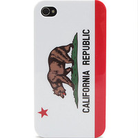 With Love From CA CA Bear iPhone 4/4S Case at PacSun.com