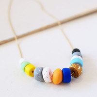 Sister Golden | Block Party Bead Necklace