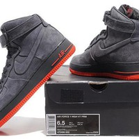 PEAP Nike Air Force 1 Low AF1 Black For Women Men Running Sport Casual Shoes Sneakers