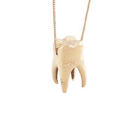 Tooth Necklace - A+R Store