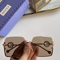 GUUCI Fashion Woman Summer Sun Shades Eyeglasses Glasses Sunglasses