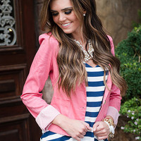 Righteous Pink Blazer
