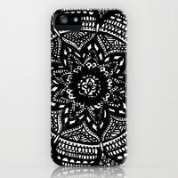 Tripped Out Snowflake iPhone & iPod Case by Brenna Whitton