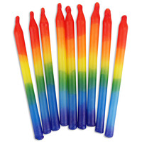 Rainbow Birthday Candles