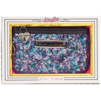 Betsey Johnson Boxed Sequin Zip Coin Purse, A Macy's Exclusive Style