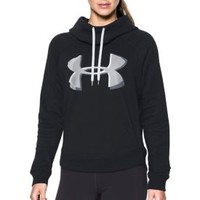 Under Armour Women's Fashion Favorite Exploded Logo Hoodie | DICK'S Sporting Goods