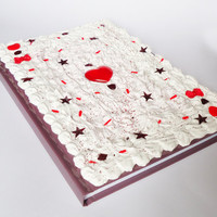 DECO NOTEBOOK - ace of hearts card