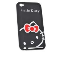 Hello Kitty iPod Touch 4 Flex Case (Black)
