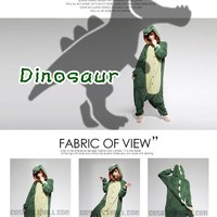 Unisex Animal Onesuits Costume Pyjamas Dress Kigurumi Pajamas Masquerade Cosplay