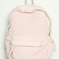 Pink Mini Corduroy Backpack