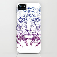 TIGER HEAD iPhone & iPod Case by AMULET