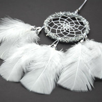 Dream Catcher, Small Dream Catcher, Dream Catcher For Car, Christmas Gifts, Gift for Men Women, Rear View Mirror Charm, Car Decor