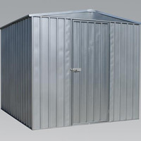 Sealey - GSS2323 Galvanized Steel Shed 2.3 x 2.3 x 1.9mtr