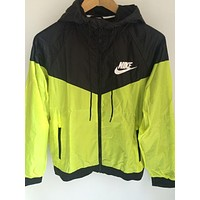 Nike Fashion Hooded Zipper Cardigan Sweatshirt Jacket Coat Windbreaker Sportswear-2